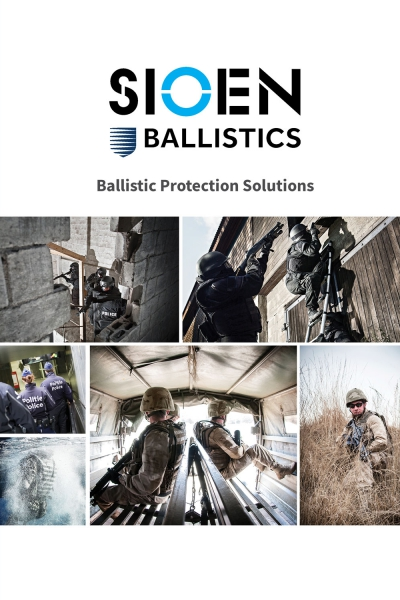 Sioen Ballistics catalogue
